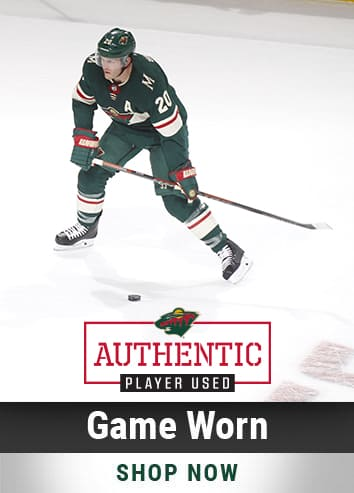 Minnesota Wild · Game Worn · Homegrown Hockey · Collectibles Shop Now 9369eeb96